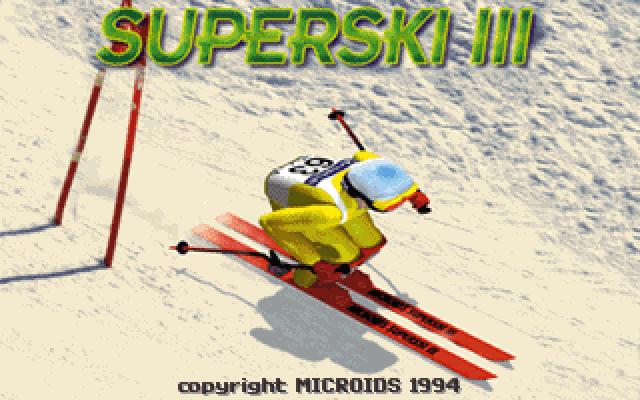 超级滑雪3的封面