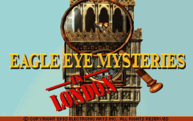 鹰眼传说:伦敦的封面