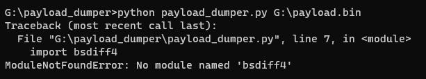 No module named 'bsdiff4'